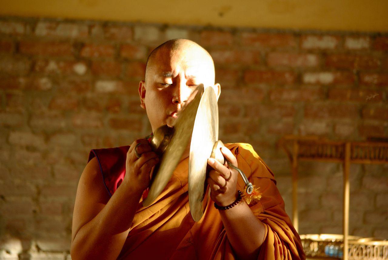 Benedizione dei monaci tibetani