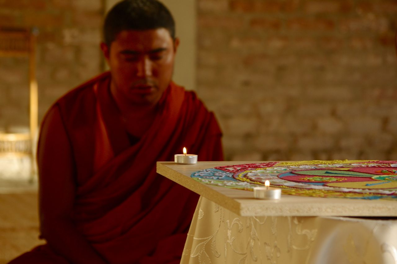 Preghiera sul mandala